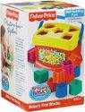 Fisher-Price Baby's Eerste Blokken Opbergemmer - 10 Stuks