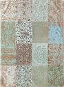 Louis de Poortere Kelim - Vloerkleed - 140x200 cm - Blauw