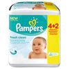 Pampers Fresh Clean - Billendoekjes Navulpak 6x64 st.