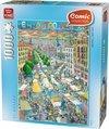 Comic El Rastro Madrid - Puzzel - 1000 Stukjes