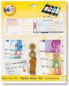 Speelgeld Euro, op Kaart