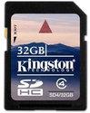 Kingston SD kaart 32 GB