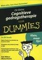 Cover voor - De kleine Cognitieve gedragstherapie voor Dummies