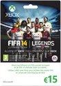 Microsoft FIFA Ultimate Team Gift Card 15 Euro Xbox 360 + Xbox One