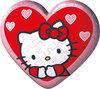 Ravensburger - Hartvormige Puzzleball Hello Kitty