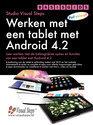 Werken met een tablet met Android 4.2