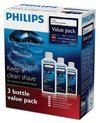 Philips HQ203/50 Jet Clean-oplossing - 3 flesjes
