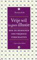 Cover voor - Vrije wil is geen illusie
