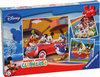 Ravensburger Puzzel 3x49 Stukjes - Iedereen Houdt Van Mickey