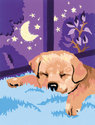 Schilderen op Nummer - Slapende Puppy