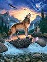 Ravensburger Het Huilen van de Wolf - Puzzel - 1000 stukjes