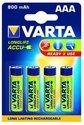 Varta 800MAH R2USE - Oplaadbare AAA batterij - 4 stuks