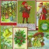 IHR Vintage Christmas Servetten - 16.5 x 16.5 cm