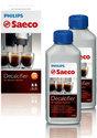 Saeco CA6701/00 Ontkalker Voordeelverpakking - 2x 250 ml