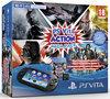 Sony PlayStation Vita PCH-2000 Handheld Console WiFi + Action Mega Pack Download Voucher + 8GB Memory Card - Zwart PS Vita Bundel