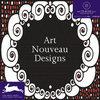 Art Nouveau Designs + CD-ROM