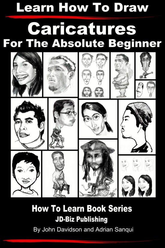 how to draw caricatures pdf