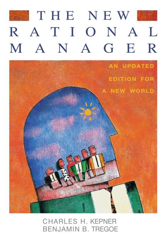 The new rational manager kepner tregoe