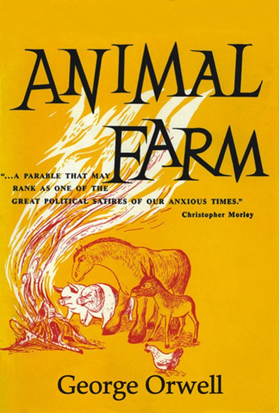 Corrupting influence of power in animal farm