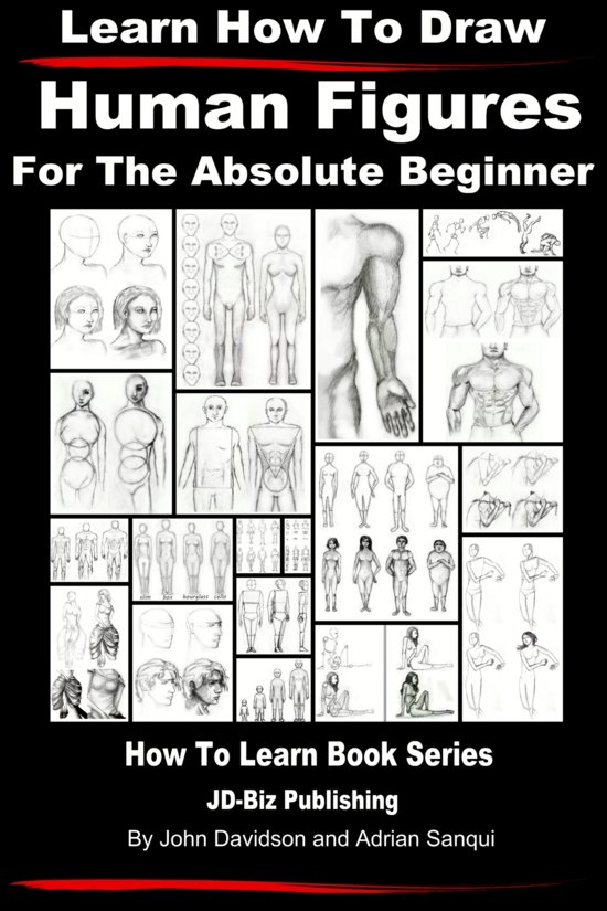 how to draw humans for beginners