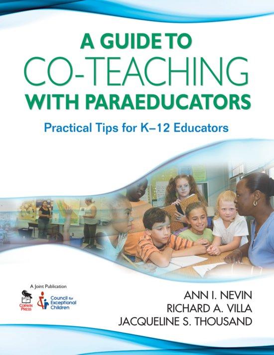 bol.com | A Guide to Co-Teaching With Paraeducators (ebook) Adobe ePub ...
