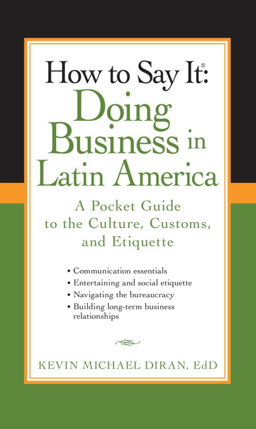 doing business in latin america Working in latin america means understanding the cross-cultural differences and similarities between venezuela, brazil, mexico and the 20+ other countries of the region.