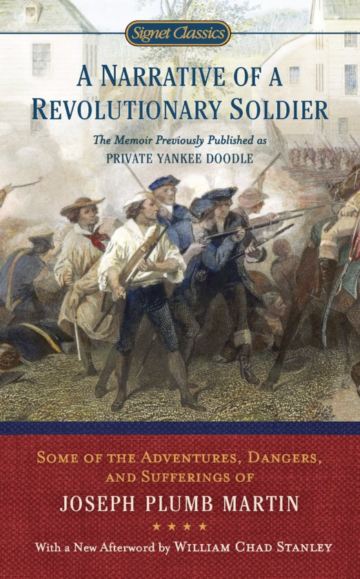 A narrative of a revolutionary soldier essay