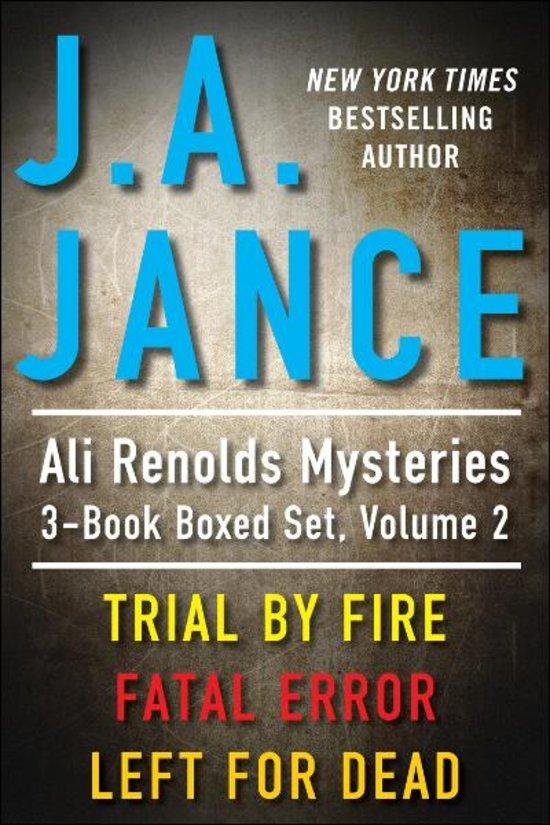 J.a. Jance Novels bol.com | J.A. ...