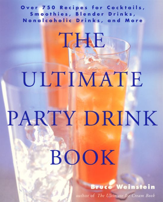 bol.com | The Ultimate Party Drink Book (ebook) Adobe ePub, Bruce ...