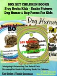 Frog Books Kids - Snake Pictures Book - Dog Jokes