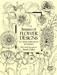 Treasury of Flower Designs for Artists, Embroiderers and Craftsmen