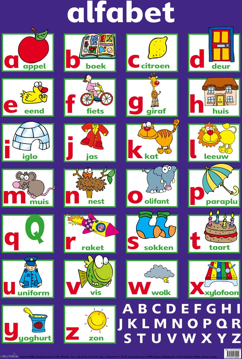Kids N Fun 26 Kleurplaten Van Alfabet