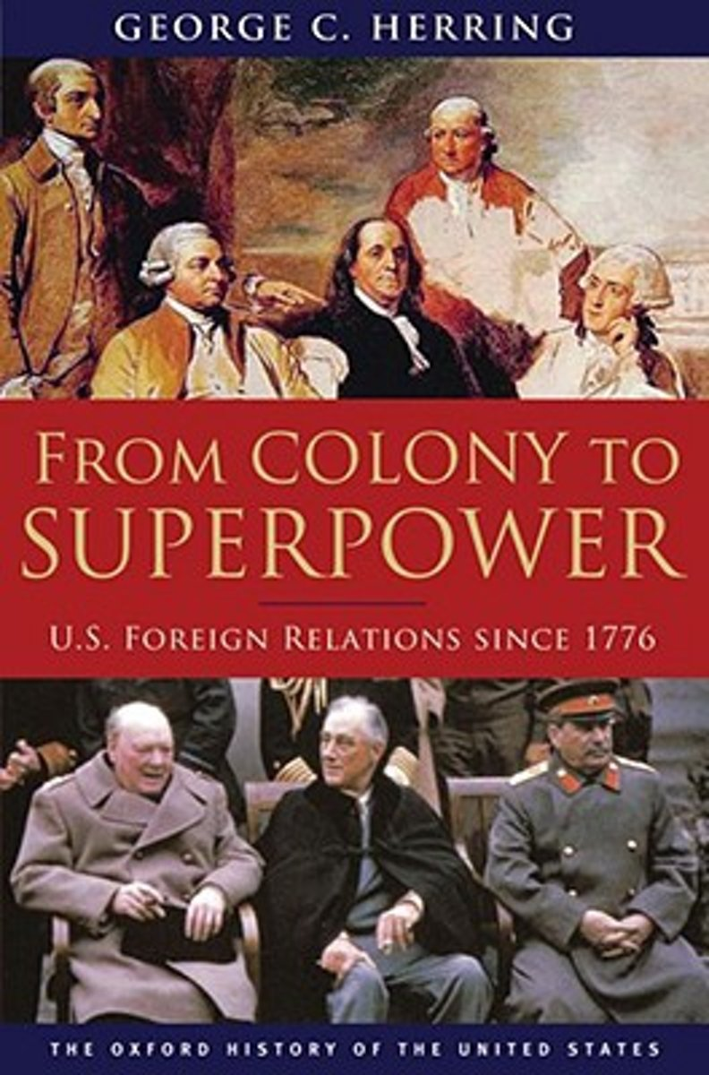 US Foreign Relations Since 1776 - George C. Herring