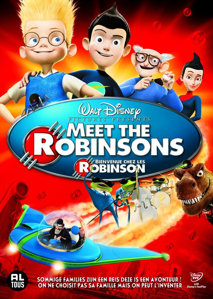 Kids N Fun 39 Kleurplaten Van Meet The Robinsons