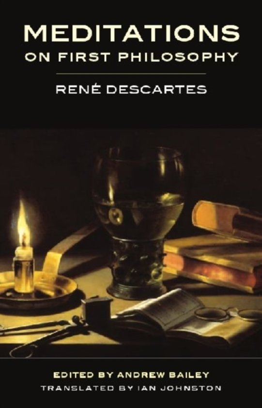 an analysis of descartes second meditation Rene descartes–meditations on first philosophy (synopsis)  in the second, the  mind which, in the exercise of the freedom peculiar to itself, supposes that no.