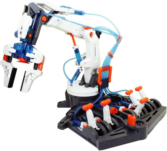 POWERPlus - Educatief Speelgoed - Experimenteerset - Water Hydraulische Robot Arm Hydrauliek in Vrijhoeven