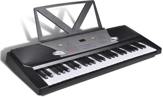 54-toetsen Elektrisch keyboard met muziekstandaard in Dijkhuisjes