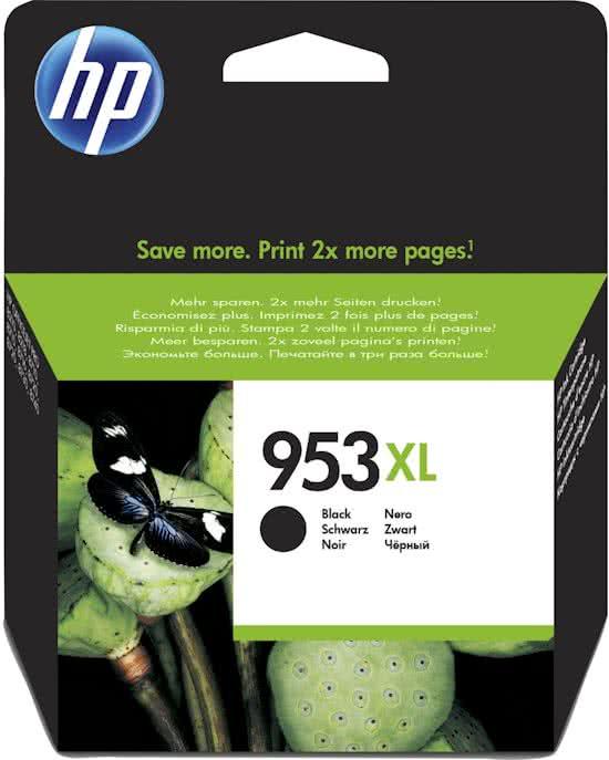 HP 953 XL Inkt Cartridge Zwart  2000 pagina s