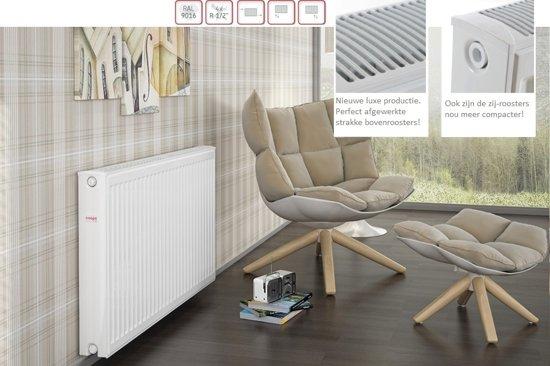 Stelrad Novello ventielradiator type 11 500x2000mm 1666w wit (ral9016, stelrad) 223051120 in Merkelbeek