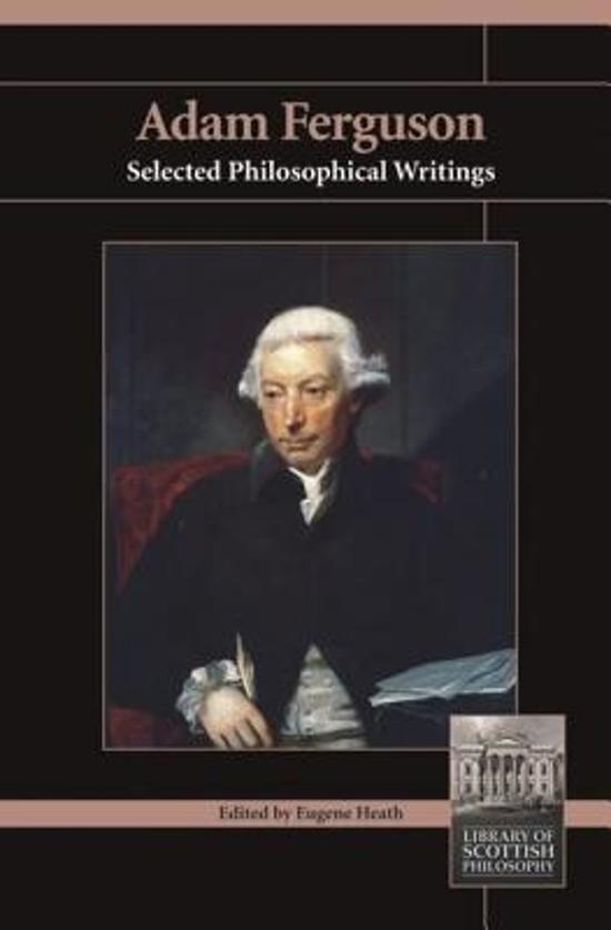 Civil essay ferguson history society