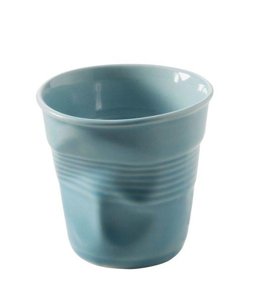 Revol Froisses Cappuccino Kreukbeker - 0.18 l - Caribisch blauw