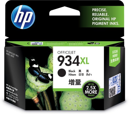 HP 934XL - Inkcartridge / Zwart (C2P23AE)
