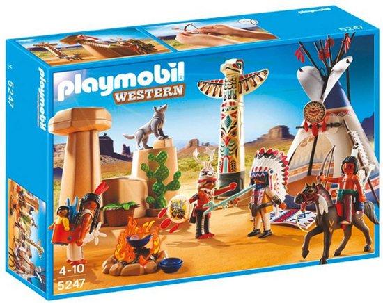 bol.com : Playmobil Indianendorp met Tipi en Totempaal - 5247 ...