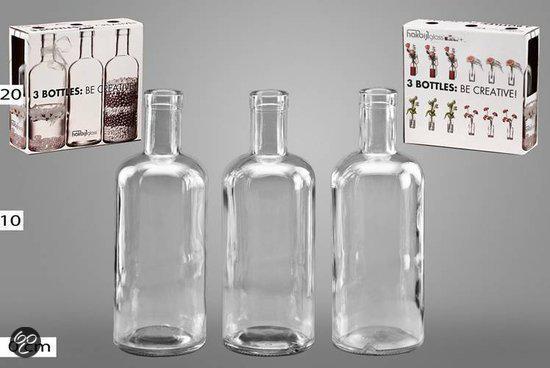 hakbijl glas vaas decoratieve glazen fles