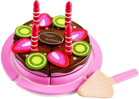 Supercool Speciale Hape Houten Speelgoed Verjaardagstaart