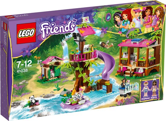 LEGO Friends Jungle Reddingsbasis - 41038 in Petegem-aan-de-Leie