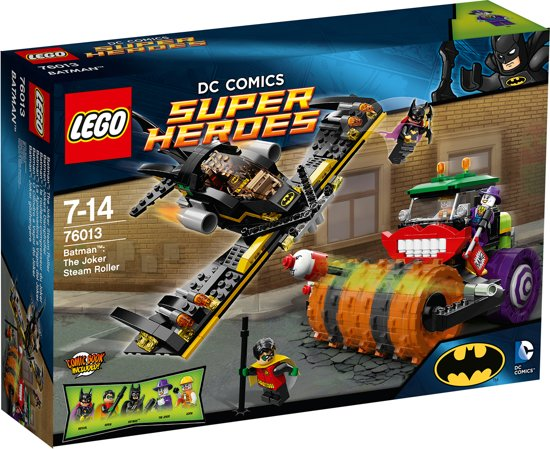 LEGO Super Heroes The Joker Stoomwals - 76013 in Nieuwe Schans