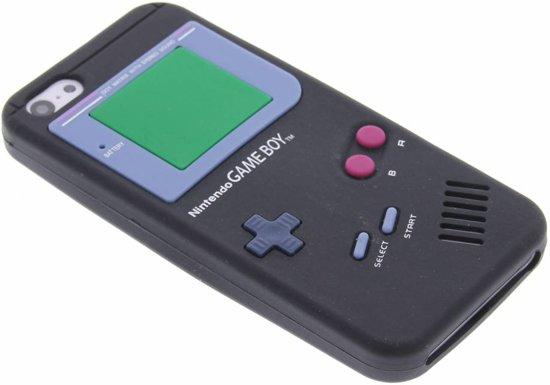 zwart siliconen hoesje iphone 5c