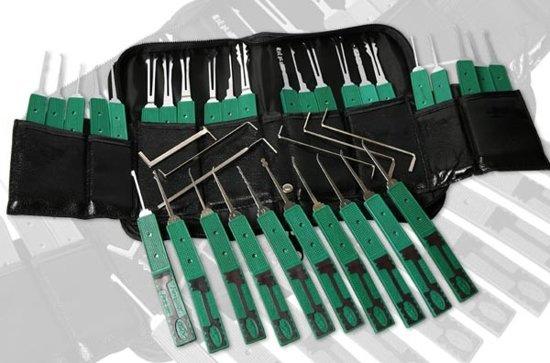 Professionele Lockpicking Set / Setje voor Beginners en Gevorderden - Lockpick Tool in Duisburg