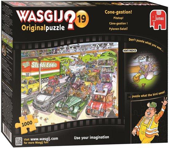 Wasgij Original 19 Pitstop - Puzzel - 1000 stukjes in Hulsdonk